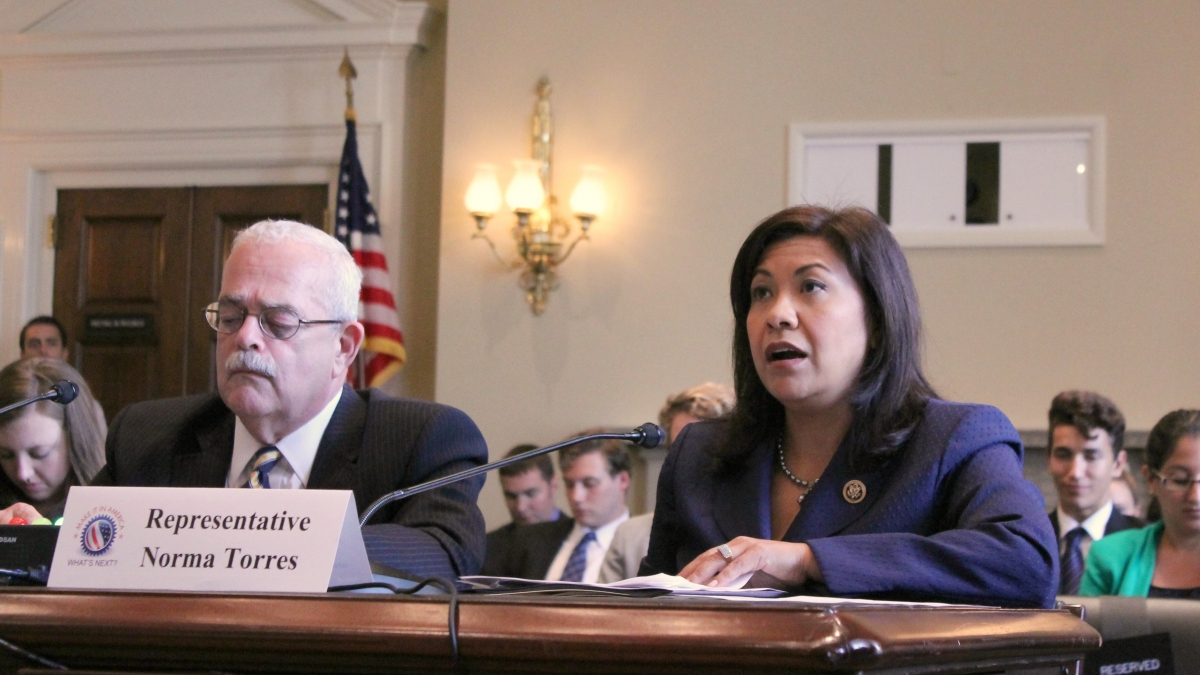 Torres testifies at Make It In America Hearing