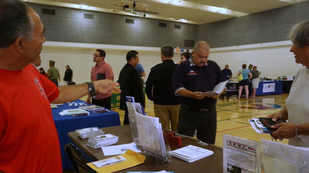 Veterans meet with local organizations to learn about avaiable services