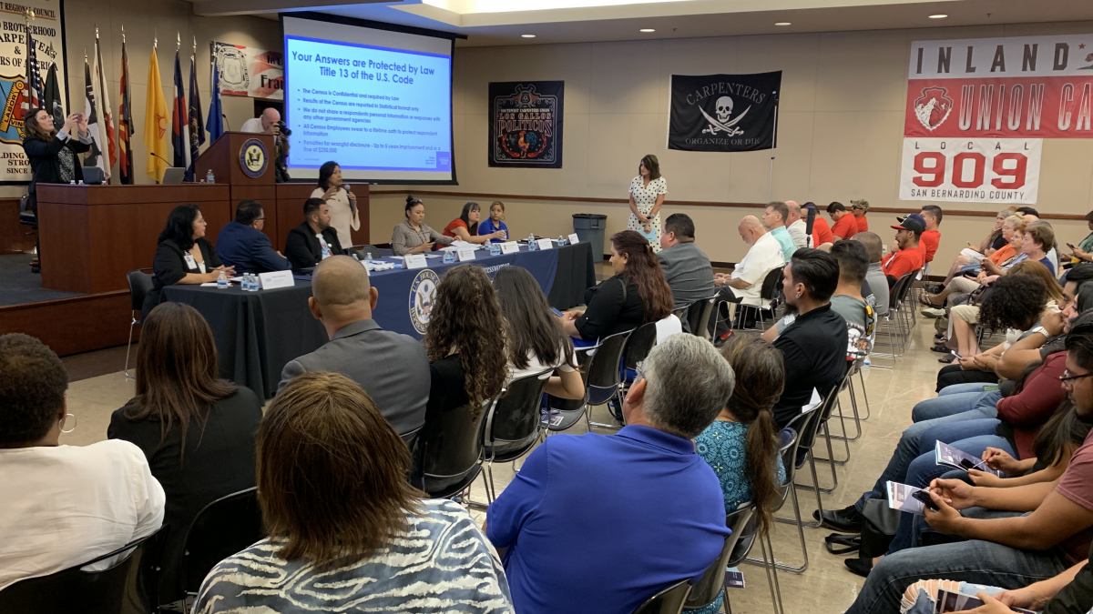 Torres Hosts 2020 Census Town Hall at Southwest Regional Council of Carpenters, Local 909