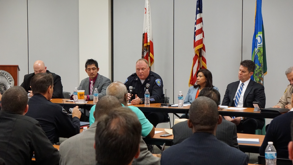 Homeland Security meeting with local law enforcement