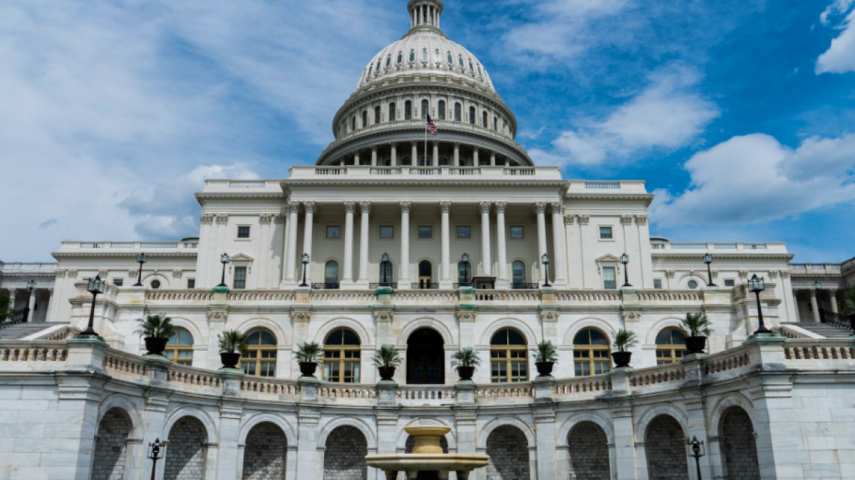 A picture of the Capitol