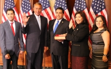Rep. Torres takes the oath of office